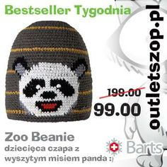 Zabawna czapa dla maluchów była najpopularniejsza w ubiegłym tygodniu http://outletszop.pl/do/item/2009/Zoo-Beanie