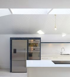 Interior shot of a west London home extension.