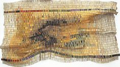 """El Anatsui, Untitled, 2007, aluminum and copper wire, 144"""" x 195"""", Blanton Museum of Art, The University of Texas at Austin, reproduction sc..."""