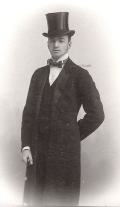 Siegfred, Duke in Bavaria. Late 1890s.  He was the eldest son of Max Emmanuel, duke in Bavaria (youngest brother of Kaiserin Elisabeth of Austria, and Princess Amalie of Saxe Coburg and Gotha)
