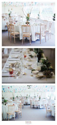 Table arrangements for a vintage themed wedding. Vintage themed wedding. Vintage inspirations. Wedding inspirations. www.racheljoycephotography.co.uk