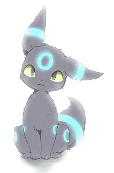 Shiny Umbreon Pokemon Umbreon, Pokemon Team, Umbreon And Espeon, Eevee Evolutions, Pokemon Fan Art, Cute Animal Drawings, Cute Drawings, Photo Pokémon, Shiny Umbreon