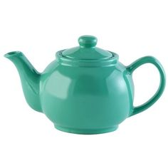 Price & Kensington Jade Green 2 Cup Teapot ($9.12) ❤ liked on Polyvore featuring home, kitchen & dining, teapots, tea teapot, tea pot and stoneware teapot