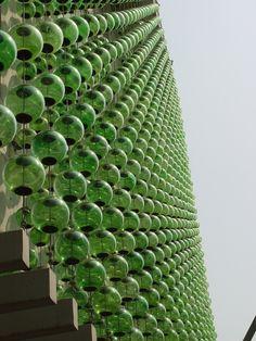 hesiodo facade • mexico city • hierve-diseñería • via contemporist #architecture #mur #verre