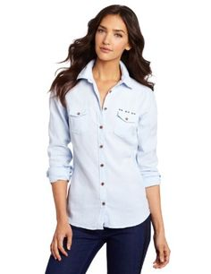 Maison Scotch Women's Shirt With Elbow Patches « Clothing Impulse