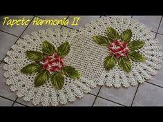 JOGO DE BANHEIRO HARMONIA II  1/4 ( FLOR E FOLHAS ) - YouTube