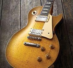 """Bernie Marsden's Gibson Les Paul 1959 burst The Beast"""