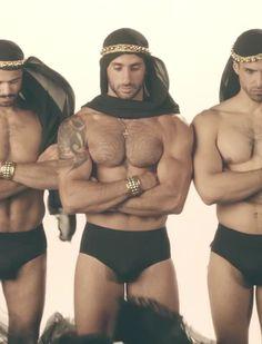 Handsome naked arab men something is