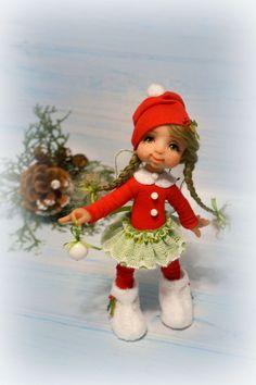 Christmas Elf, Christmas Crafts, Xmas, Polymer Characters, Pasta Flexible, Pixies, Fondant Cakes, Vintage Dolls, Halloween