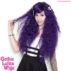 Gothic Lolita Wigs® Rhapsody™ Collection - Grape – Dolluxe®