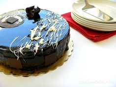 Torta Setteveli di Montersino Nutella, Mousse, Frosting, Cheesecake, Birthday Cake, Cooking, Desserts, Dolce, Food