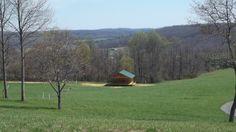 Stage at Chantilly Farm, Floyd County Virginia