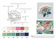 Colour Schemes For Embroidery