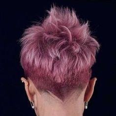 Alineh Short Hairstyles - 1 Source by smilethedayaway Short Punk Hair, Very Short Hair, Short Hair Cuts, Short Hairstyles For Women, Cool Hairstyles, Fashion Hairstyles, Funky Haircuts, Pixie Haircuts, Medium Hair Styles