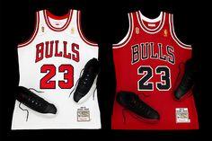 "Michael Jordan 史に残る""The Flu Game""のゲームシャツを Mitchell & Ness が復刻"