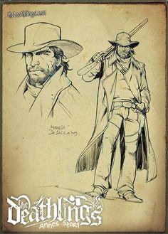 The Deathlings: the Cowboy  by Michela Da Sacco