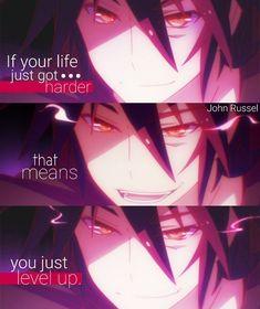 No game no life Sad Anime Quotes, Manga Quotes, Game Quotes, Music Quotes, Reality Quotes, Mood Quotes, Game No Life, Johny Depp, Savage Quotes