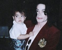 Michael and little blanket