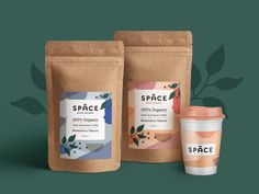 Space Coffee Packaging by Anna Nikolova Spices Packaging, Honey Packaging, Pouch Packaging, Fruit Packaging, Coffee Packaging, Chocolate Packaging, Food Packaging Design, Coffee Branding, Packaging Design Inspiration