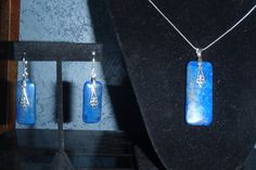 Gorgeous Lapis Lazuli Jewelry Set Necklace & Earrings by SeraphimTreasures
