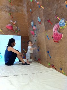 Lil Explorer @ Kinetics Climbing in Singapore