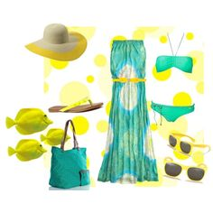 Ready for the Beach, created by qunofdesign on Polyvore