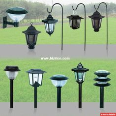 Superb Solar Patio Lanterns | Coach Lights With Shepherdu0027s Hooks | Solar Lanterns  | Pinterest