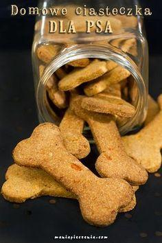 psie przysmaki, psie ciasteczka, ciasteczka dla psa, domowe ciasteczka dla psa, ciastka dla psa z marchewką, homemade dog treats, dog treats, carrot dog treats