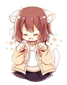 Fnaf Drawings, Undertale Drawings, Kawaii Drawings, Undertale Cute, Undertale Fanart, Undertale Comic, Cool Anime Girl, Kawaii Anime Girl, Manga Cat
