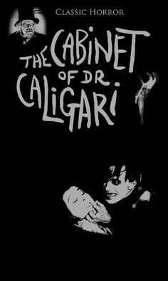 The Cabinet Of Dr. Caligari - Robert Wiene 1920 > one of the most visually striking movies I've seen; black and white and cubist, very effective setting for the story