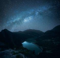 Photograph Boundless Immensity by Romain Matteï --Taken in Montsec mountain range, Spain