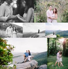Amy + Troy: An Engagement Session on the Blue Ridge Parkway