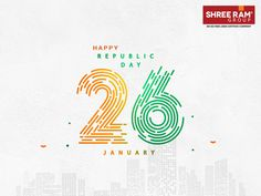This Republic Day, let's take pride in the prestige and honour of our motherland that cradles our happiness and makes us the dignified citizens of a democratic country. Shree Ram Group wishes Happy Republic Day to one and all.  #ShreeRam #Jaipur #HappyRepublicDay