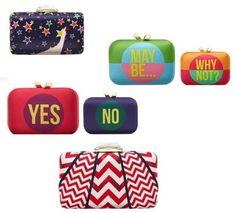 Le clutch di Kotur Divertente, colorata e un po' social: la nuova collezione di clutch di Kotur per la Primavera/Estate 2015