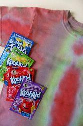 Activities: Make Kool-Aid Tie Dye
