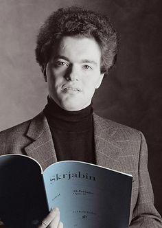 Evgeny Kissin, Russian piano virtuoso.