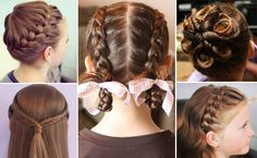 Cute Braids and Hairstyles For Little Girls