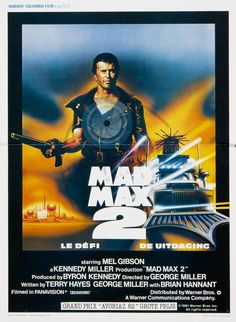 Mad Max 2 Road Warrior Foreign movie poster art random find repin