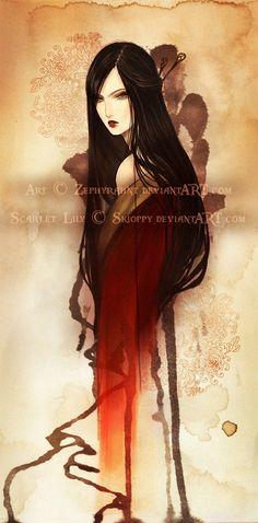 ScarletLily by *Zephyrhant on deviantART