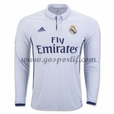 adidas Men s Real Madrid Home Long Sleeve Jersey Crystal White Raw Purple fc8c094c83e