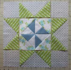 Danish Pinwheel Star Block Tutorial | Take a trip across the pond for this pinwheel block tutorial!