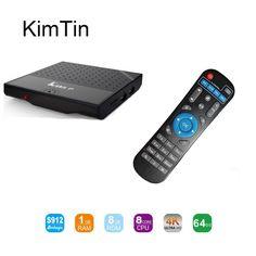 >> Click to Buy << KimTin Mi KM8P Amlogic S912 Octa Core Android 6.0 TV Box Kodi 17.1 Fully Loaded Wifi 4K H.265 HDR AirPlay Smart Set Top Box New #Affiliate