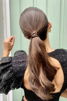 40+Easy Hairstyles Trending in 2021 - Your Classy Look Everyday Hairstyles, Hairstyles For School, Trendy Hairstyles, Spring Hairstyles, Medium Hair Styles, Short Hair Styles, Aesthetic Hair, Stylish Hair, Hair Type