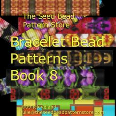 Free Beading patterns for your loom, 21 x 75 SEED BEAD PATTERNS