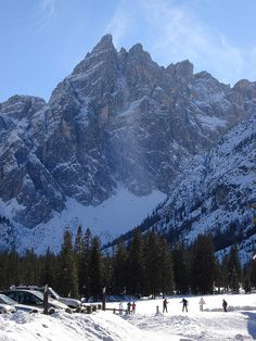 Cross-country skiing at Dobbiaco, Trentino-Alto Adige, Italy.  Photo: Exodus Travels via Flickr