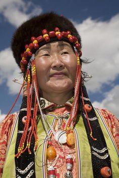 Mongolian woman.
