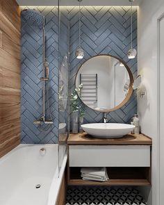 Amazing DIY Bathroom Ideas, Bathroom Decor, Bathroom Remodel and Bathroom Projects to help inspire your bathroom dreams and goals. Bathroom Interior Design, Interior, Home Decor, Modern Bathroom, Bathroom Renovations, Amazing Bathrooms, Bathrooms Remodel, Bathroom Decor, Bathroom Renovation