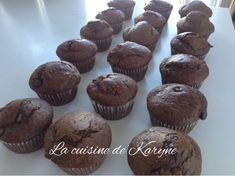 La cuisine de Karyne: Muffins au chocolat