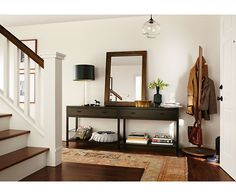 Berkeley Console Table - Console Tables - Living - Room & Board--foyer table decor-love!