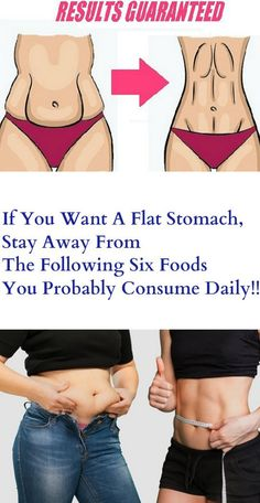 If You Want A Flat Stomach, Stay Away From The Following Six Foods You Probably Consume Daily! – Stay Healthy Store